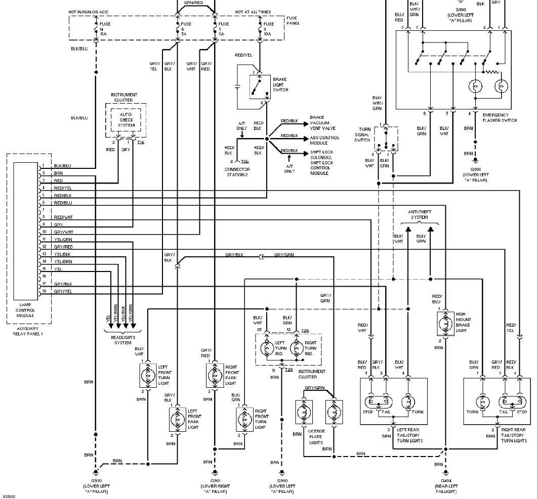 LampModS6 audi a4 door wiring diagram audi wiring diagrams instruction 2001 audi a4 wiring diagram at fashall.co