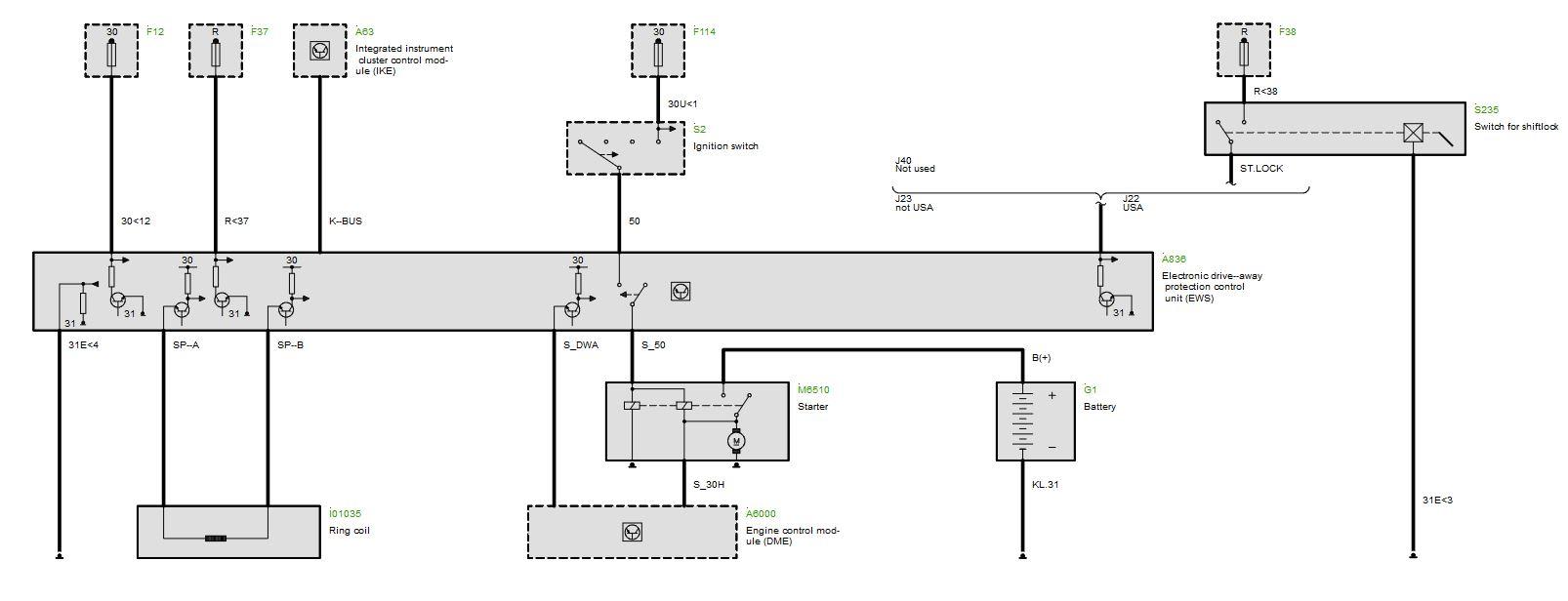 2001 530i intermittent start and P0014, P0015 codes