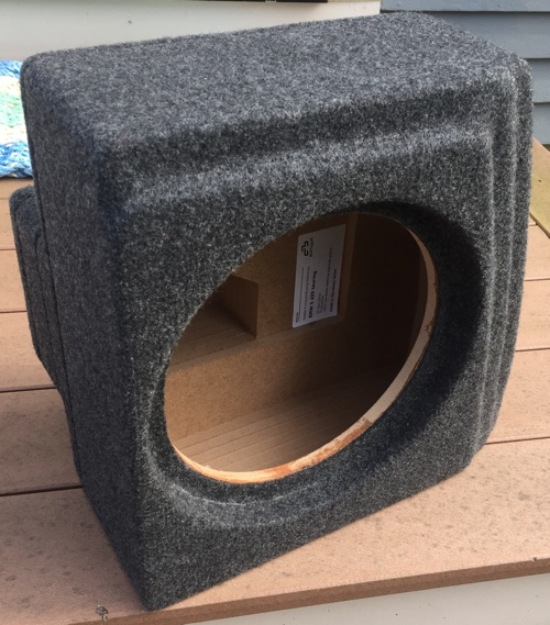 Basser Subwoofer cab for E39 Touring review  install tips
